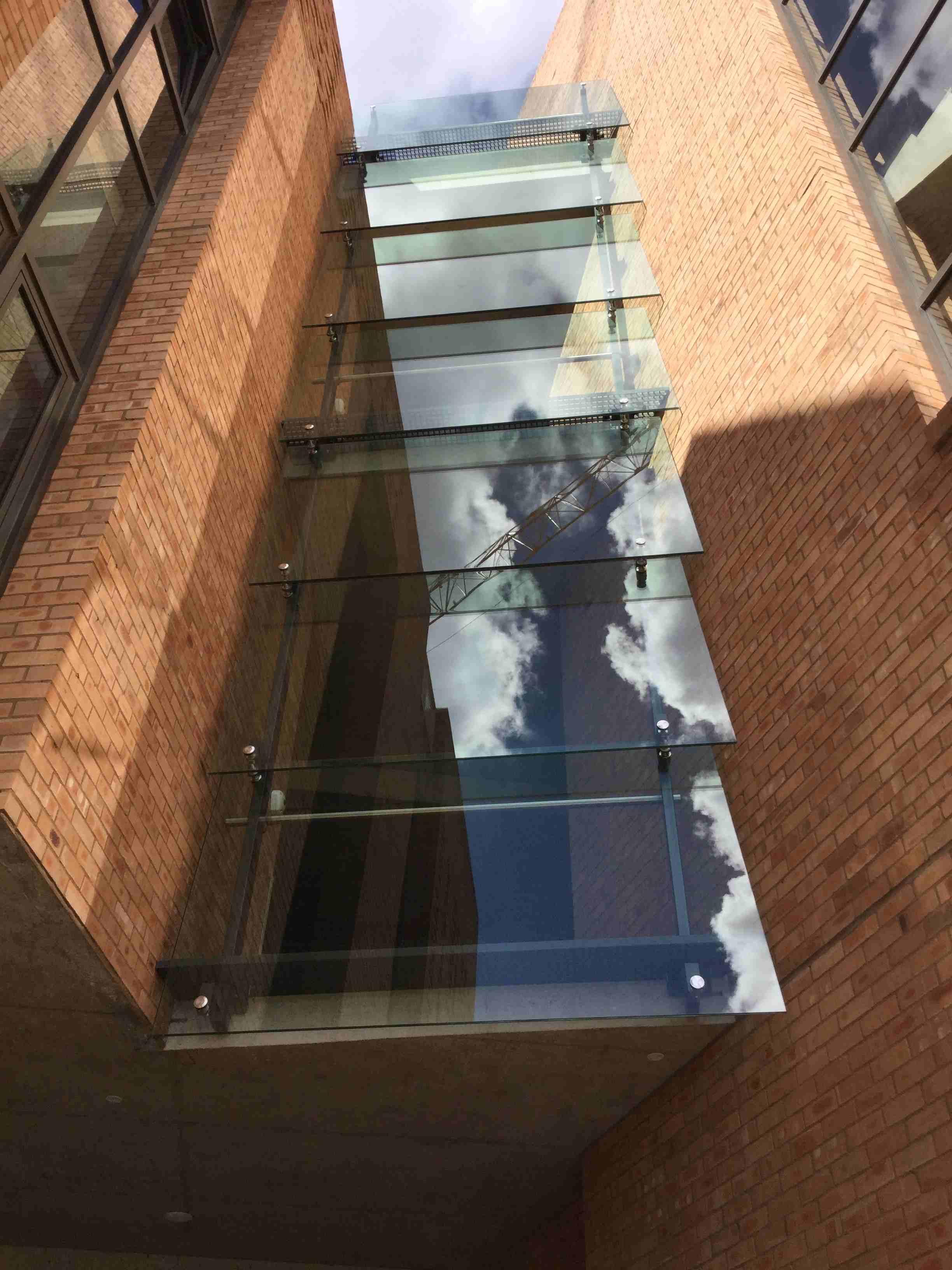 Glass Facade Skylight