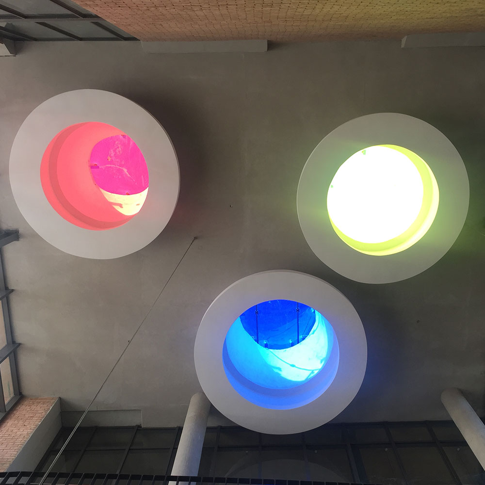 Printed Glass Skylight