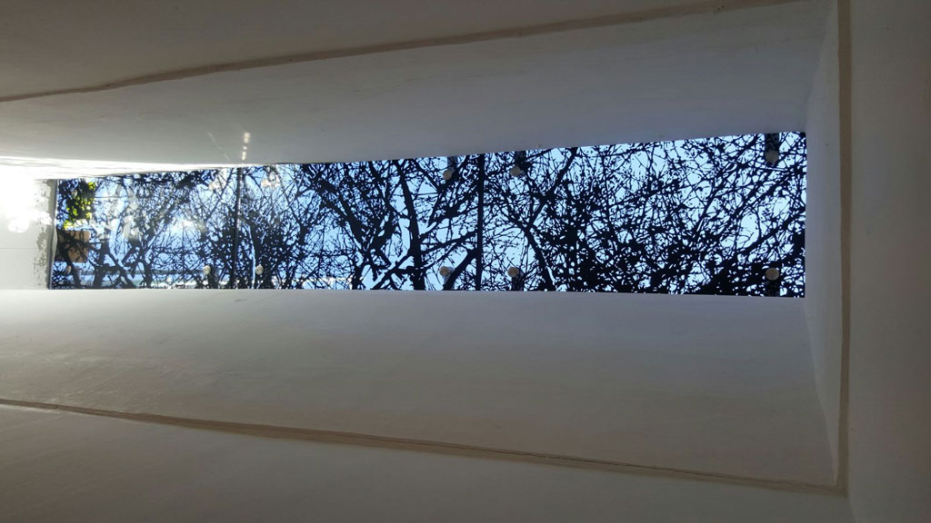 Printed Glass Skylight
