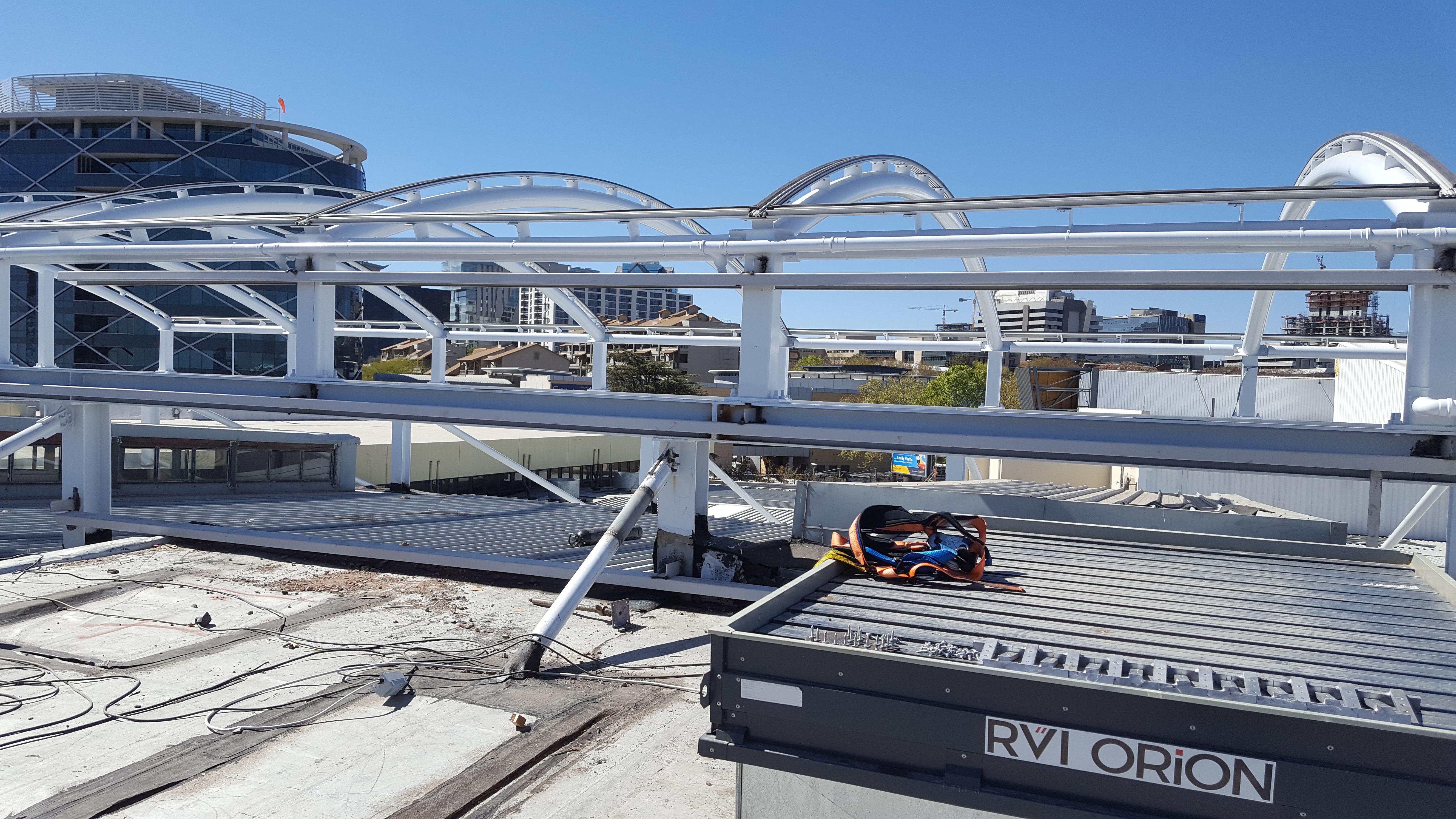 Roof frame prep