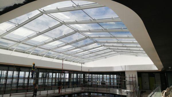 Park Lane west Glass atrium