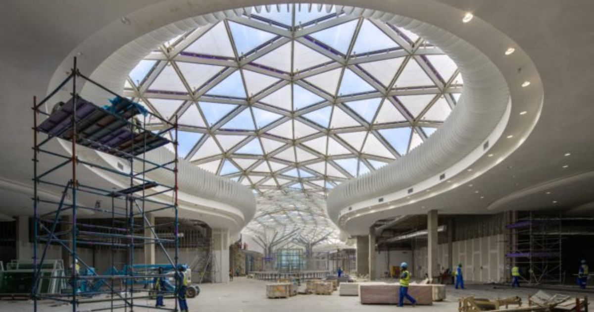 Mall of Africa Central Skylight